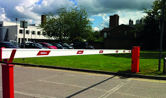Traffic Barriers for a Car Park