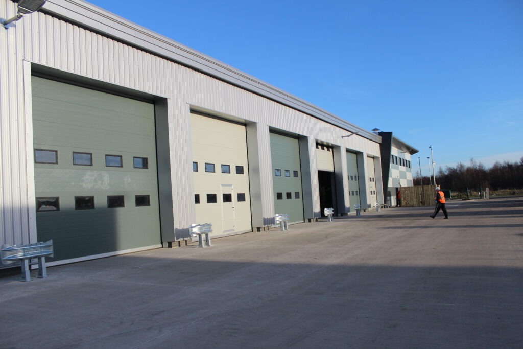 High Speed Doors for a Warehouse